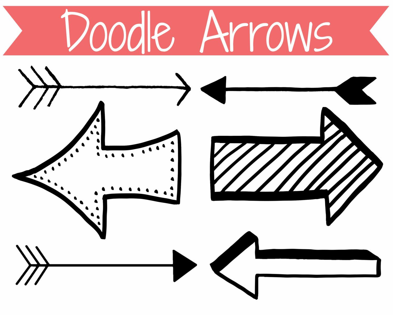 Arrow clipart funky #3
