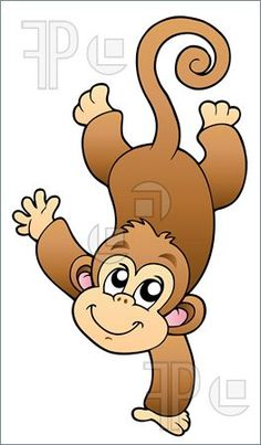 Turtle clipart baby monkey #9