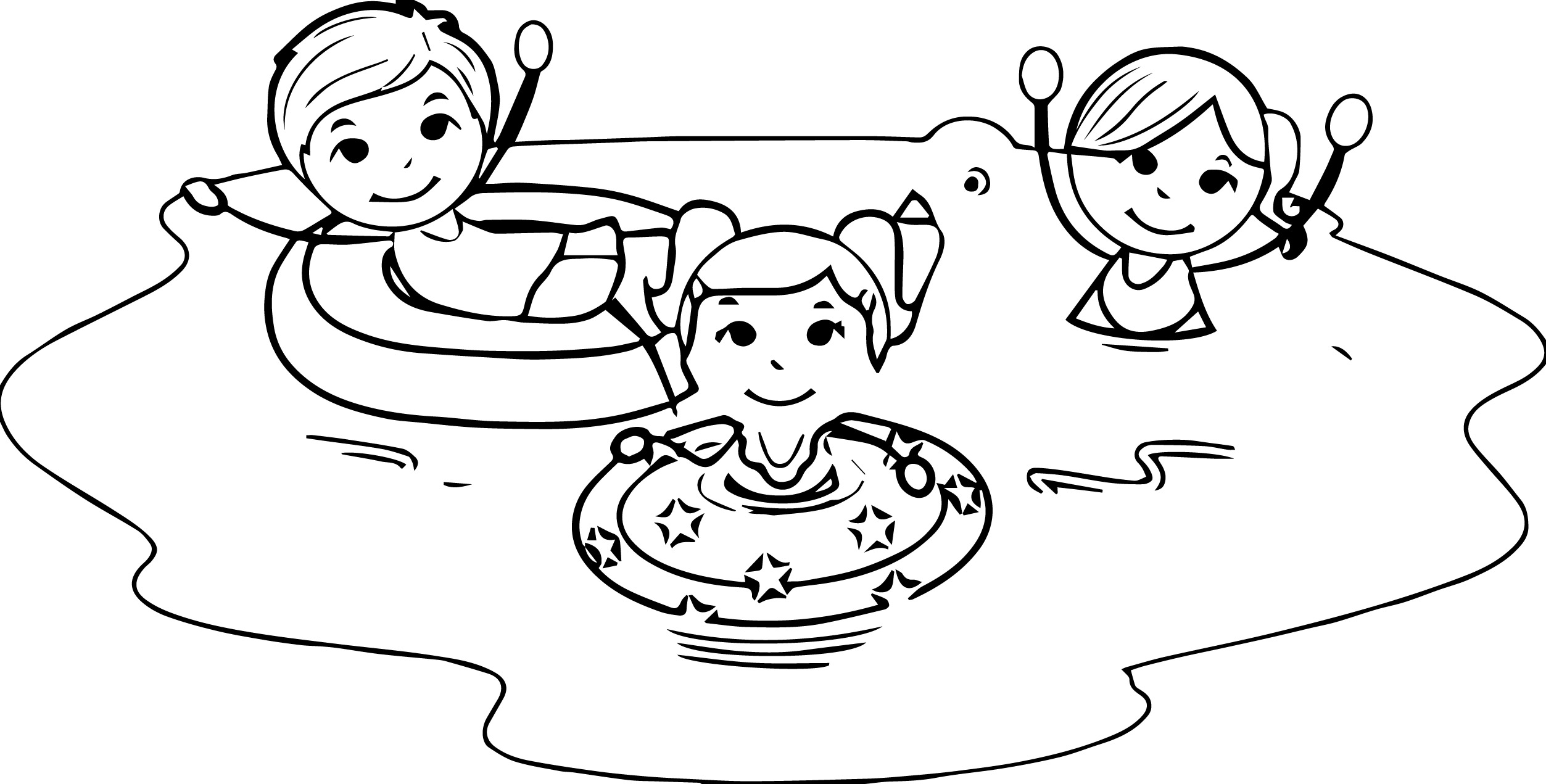 Fun clipart black and white Clipart white summer and clipart