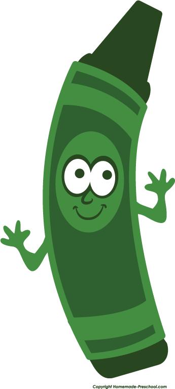 Crayon clipart face Art Green Clipart Free green%20crayon%20clipart