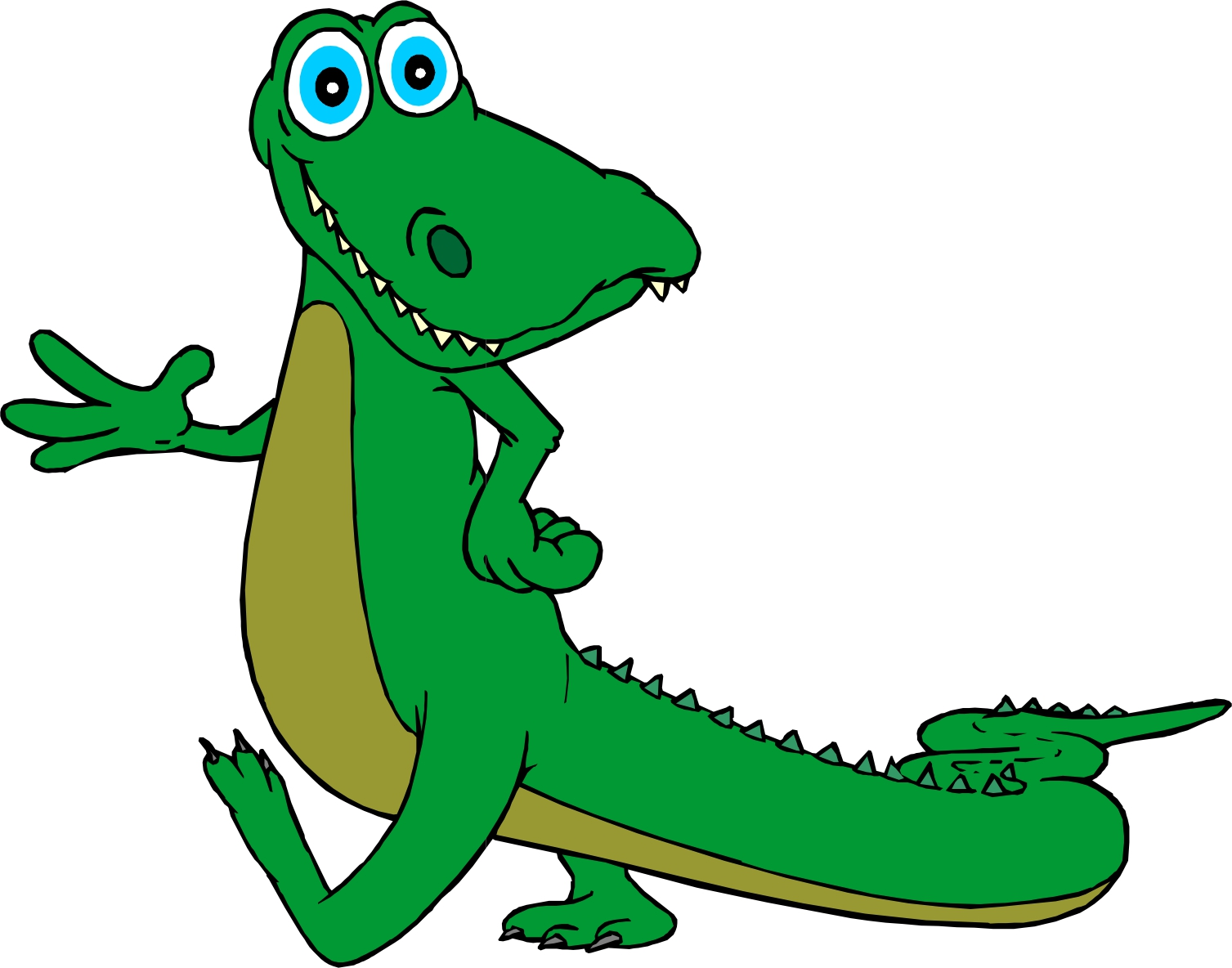 Moving clipart alligator Pictures Funny clip  art