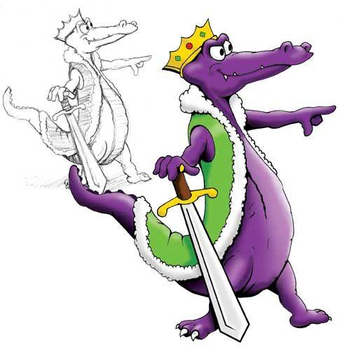 Alligator clipart purple Crocodile Art Art Pictures 98