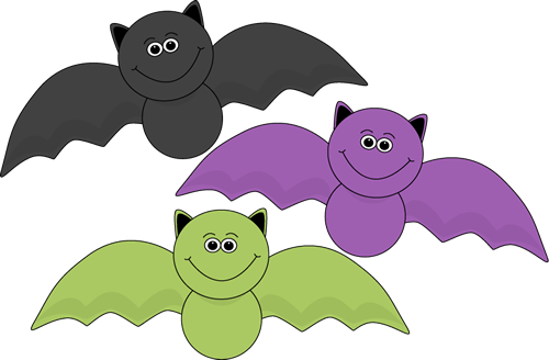 Phanom clipart halloween bat Colorful Art Images Bats Halloween