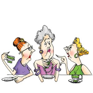 Relax clipart funny lady #3
