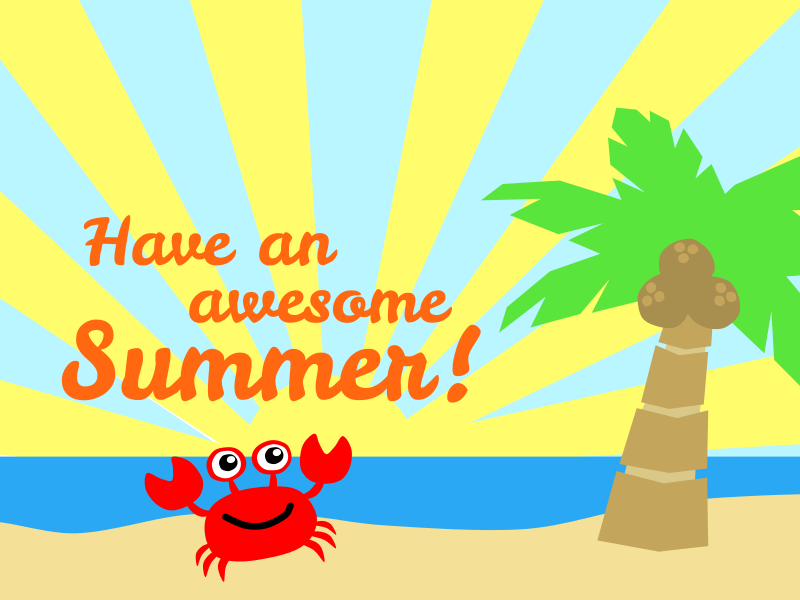 Sandal clipart july summer #7