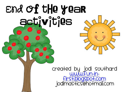 Fun clipart end summer Calendar of First and End