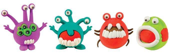 Fun clipart eraser Microbe The Shop Eraser Monster
