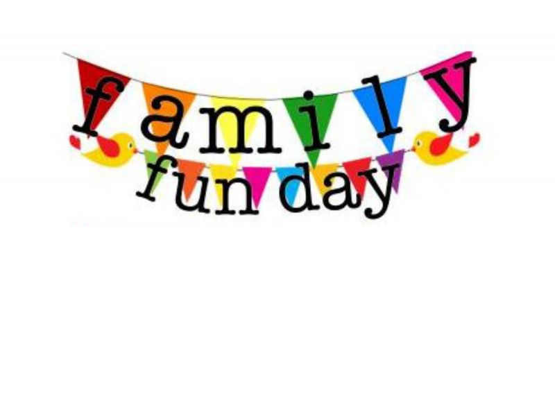 Fun clipart family fun day Bryn May Patch May Upper
