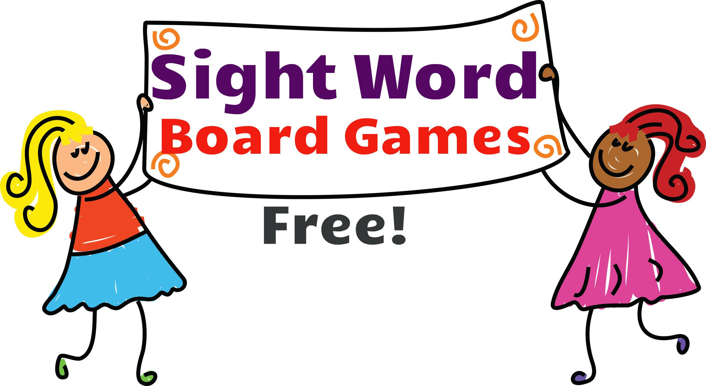 Fun clipart fun game Clipart Sight Word Fun Word
