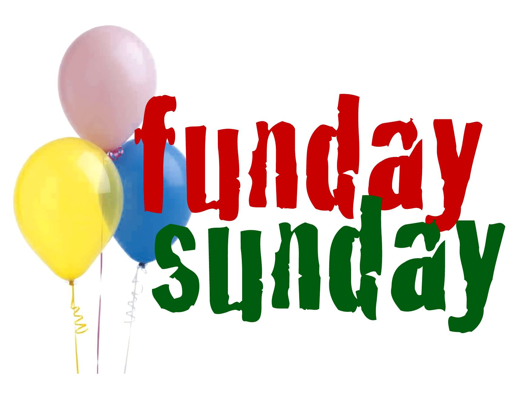 Fun clipart funday Free Sunday Clip Brunch Art