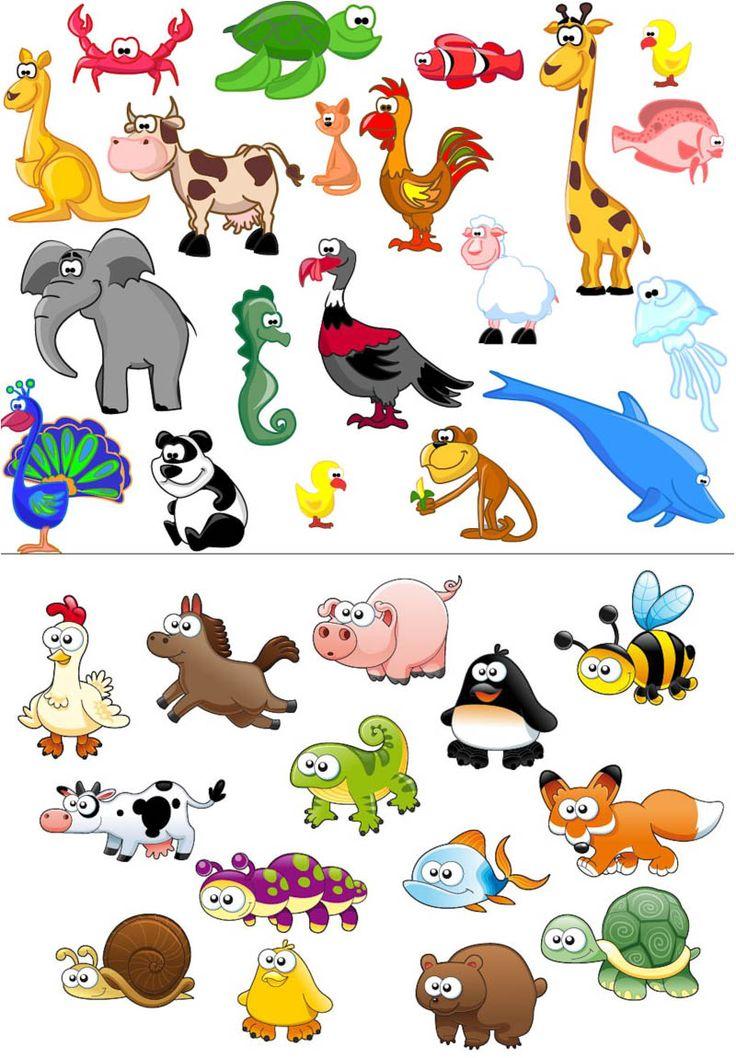Safari clipart cartoon Cartoon animal Beautiful art best