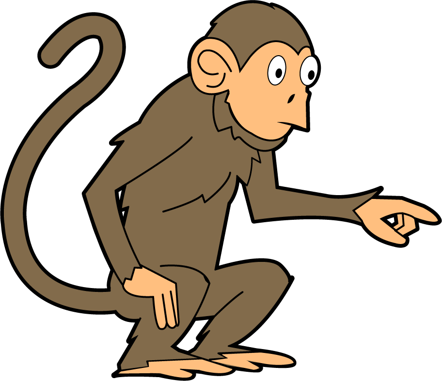 Baboon clipart silly monkey Free drawings Art monkey clip