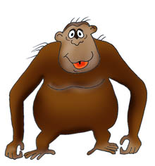Mommy clipart monkey #5