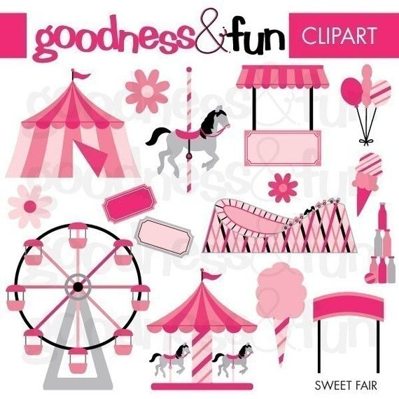 Carnival clipart pink circus tent About images 175 on Pinterest