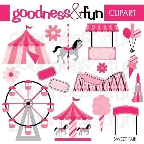 Carneval clipart pink circus tent Clip art best art images