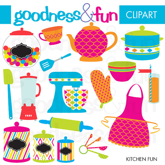 Fun clipart goodness FREE Download Kitchen Buy Digital