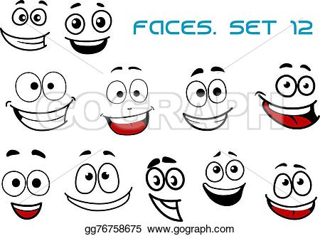 Fun clipart happiness Art fun  faces happiness