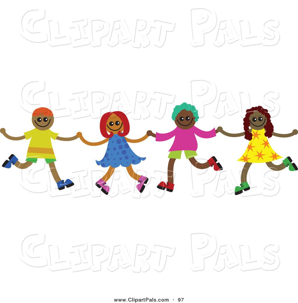 Fun clipart happy child Kids Dancing Clipart diversity%20clipart Images