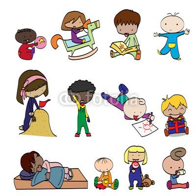 Fun clipart happy child  s children happy children