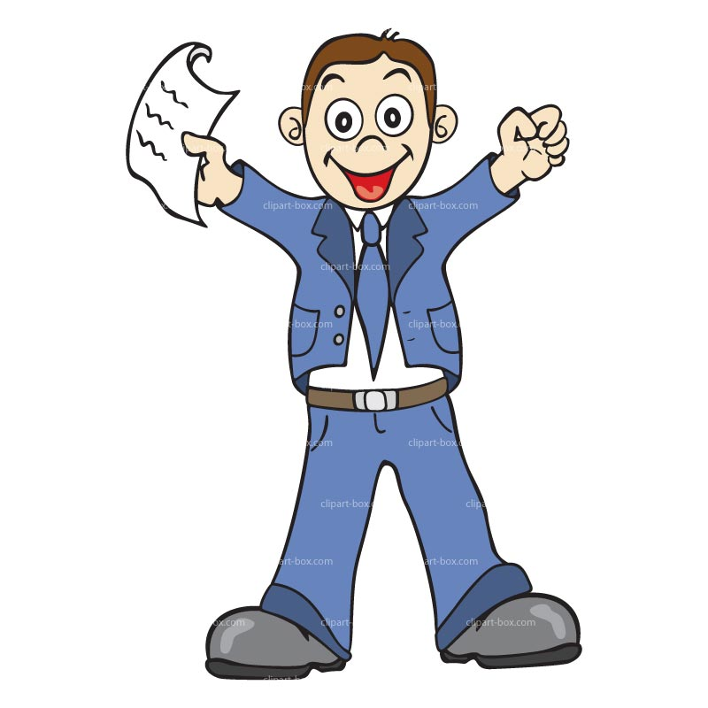 Fun clipart happy employee #14543 cartoon Happy employee cartoon
