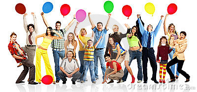 Fun clipart happy group Group Images People Happy Clip