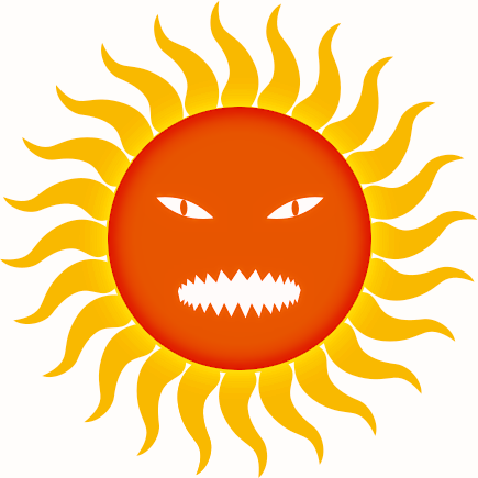 Heat clipart hot climate Clip Sun Download Hot