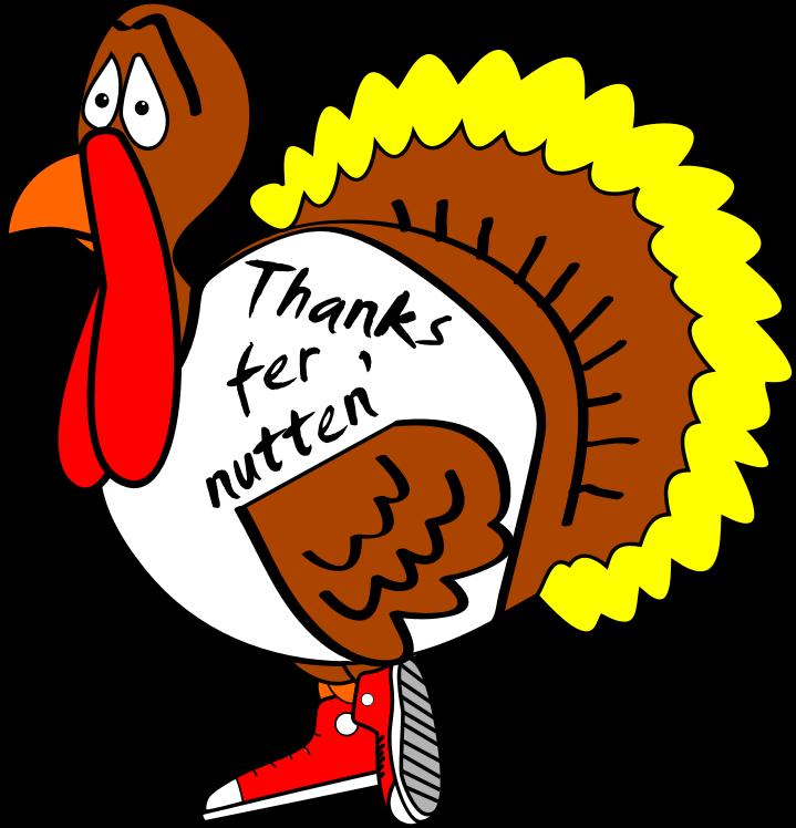 Turkey clipart funny #1
