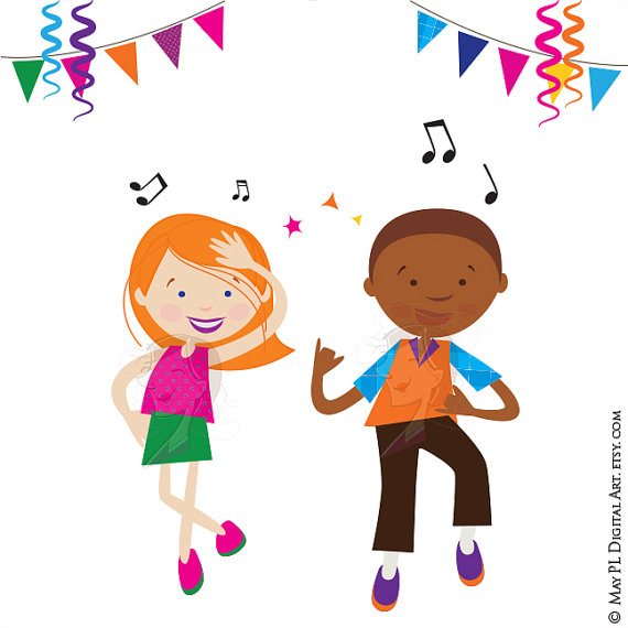 Danse clipart celebration Clipart This digital Party Boy