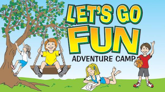 Fun clipart let's go Fun Go Let's Adventure Camp