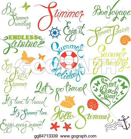 Fun clipart let's go Of Vector for  design