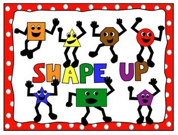 Shapes clipart math manipulative #8
