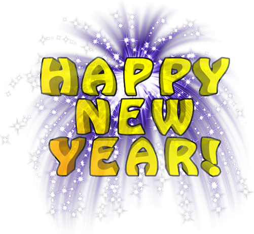 Fun clipart new year firework Happy Year Animations Free Year