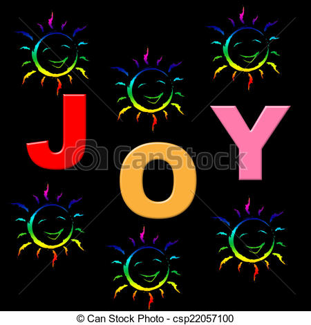 Fun clipart positive And Joy Shows Childhood Fun