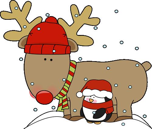 Penguin clipart reindeer Reindeer Reindeer Christmas Funny Funny