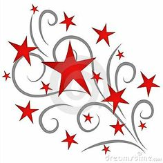 Fun clipart shooting star Pinterest art Army Starry The