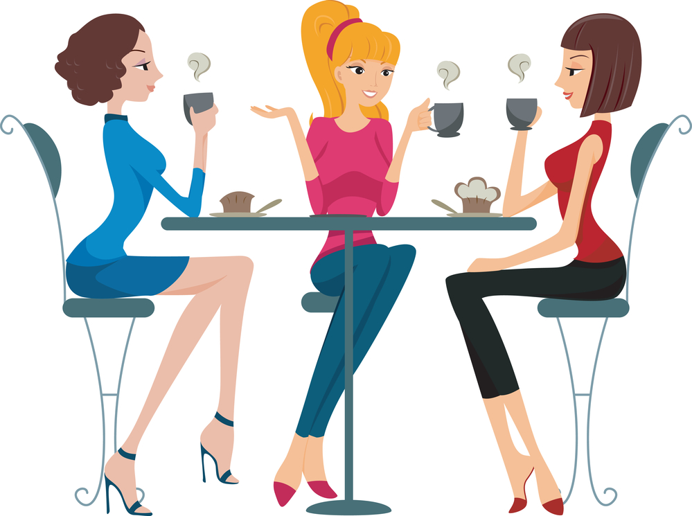 Other clipart group conversation Free  Free Download Girl