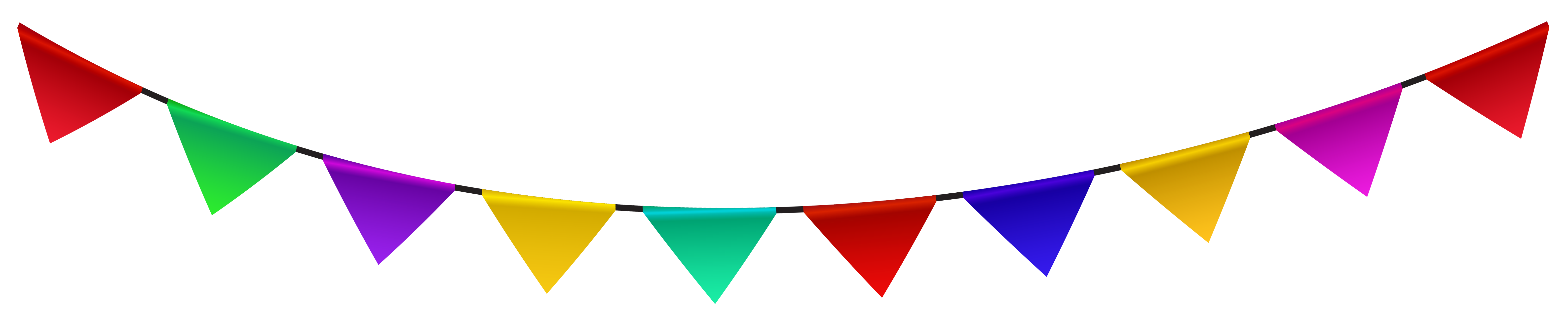 Triangle clipart streamer PNG Clipart size Decoration Gallery