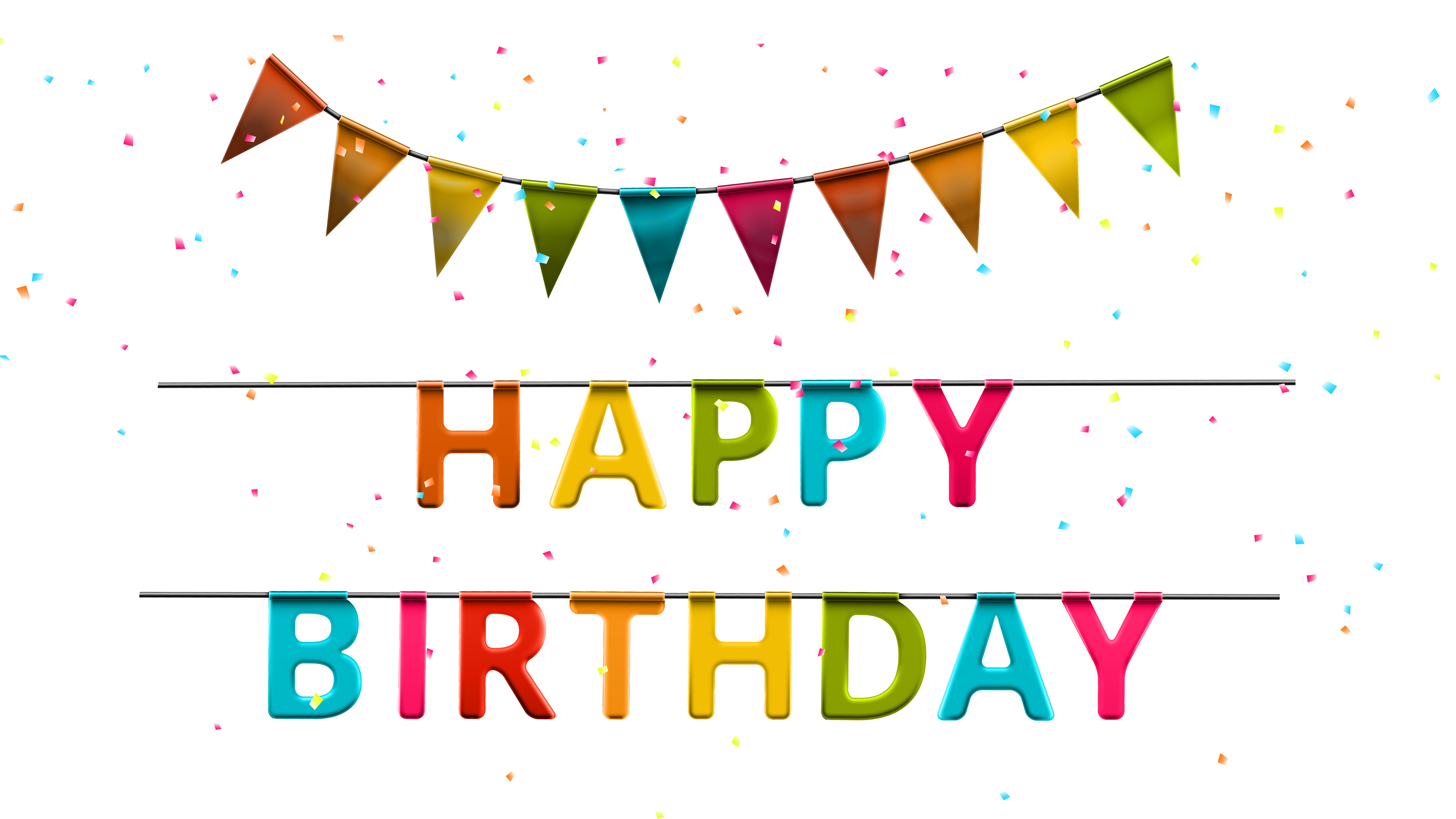 Fun clipart streamer Gallery  PNG Birthday size