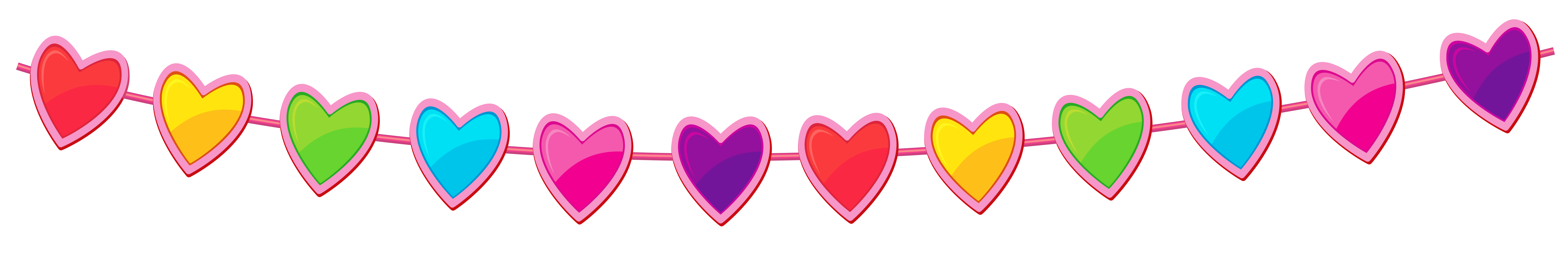 Fun clipart streamer Clipart Heart size PNG Transparent