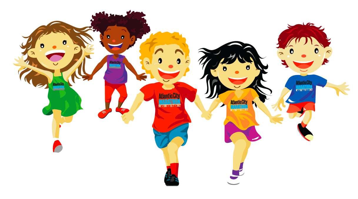 Racing clipart kids run Club Running Clipart Clipart Club