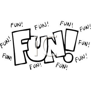 Fun clipart the word Of Free Clipart Word Art