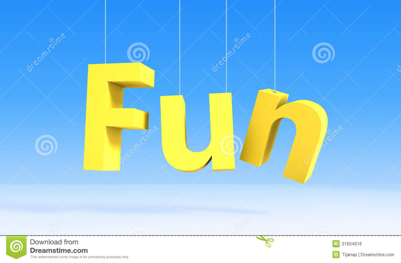 Fun clipart the word Clipart The fun The word