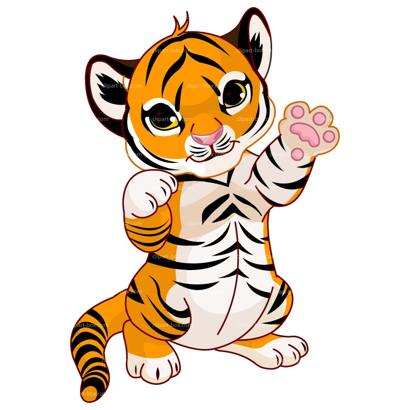 Baby Animal clipart tiger tail Clipart Tigger Tigger Clipart Cute