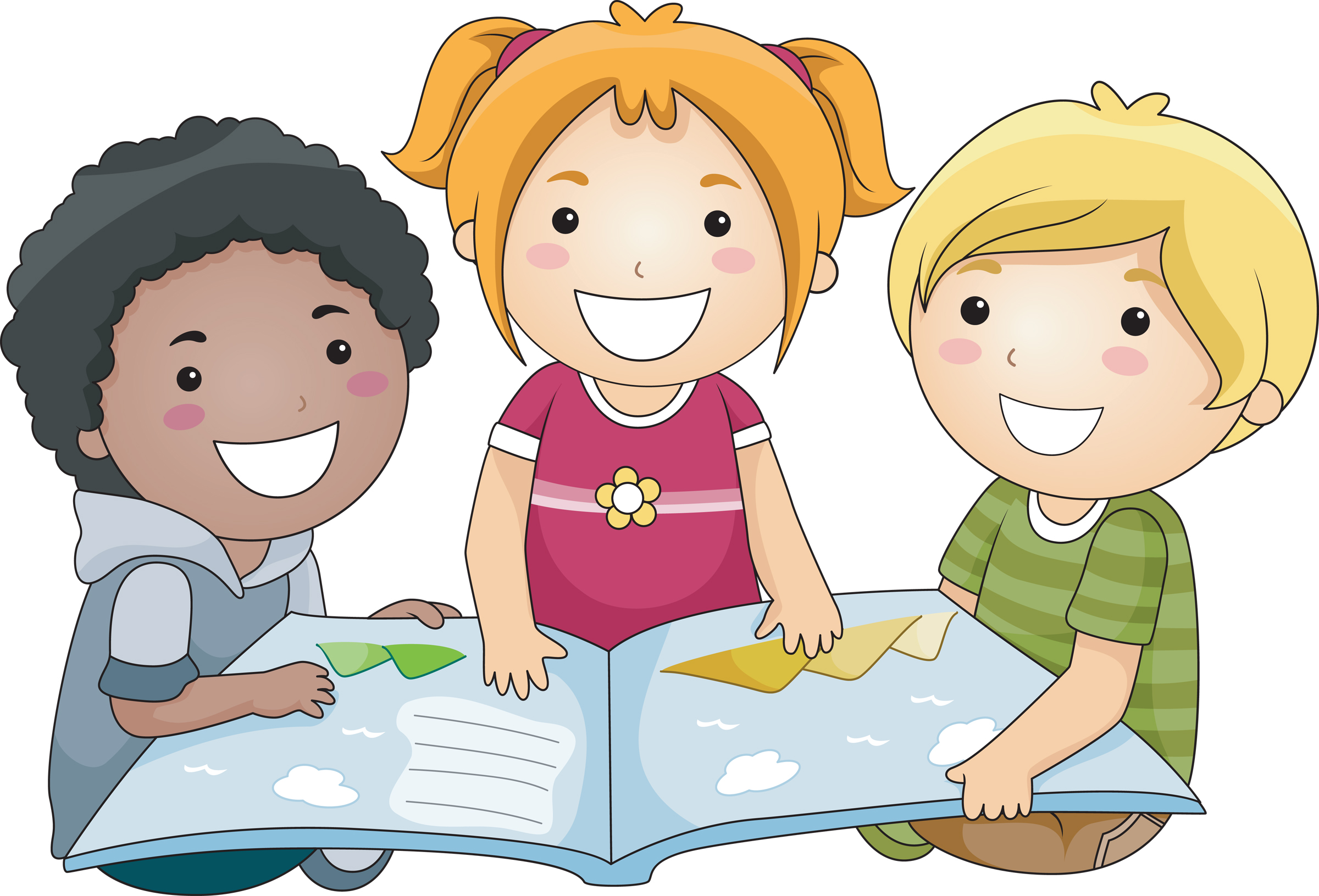 Choice clipart kid Kid WikiClipArt clipart students reading