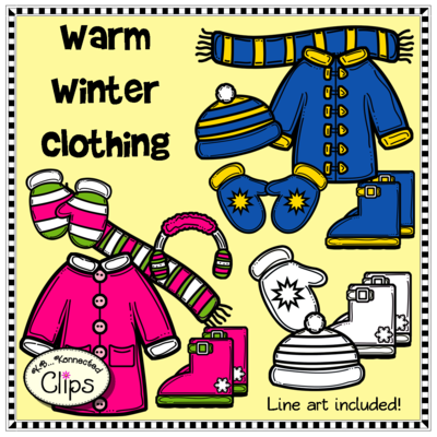 Warmth clipart fun From Winter Clips Clothing for