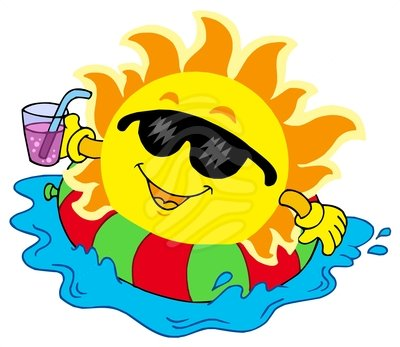 Fun clipart water day Education splash Sunday Religious sun