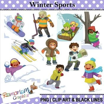 Winter clipart winter fun Clip about Art images Wonderful