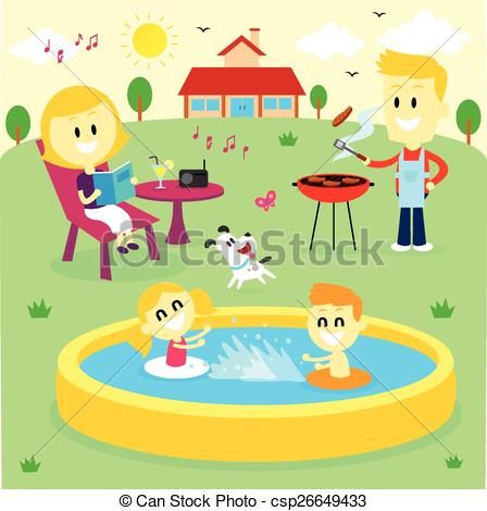 Fun Time clipart Backyard at : Backyard Time