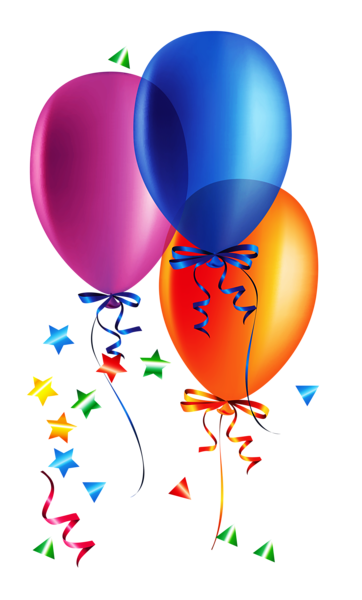 Fun clipart confetti Transparent party birthday Clipart and