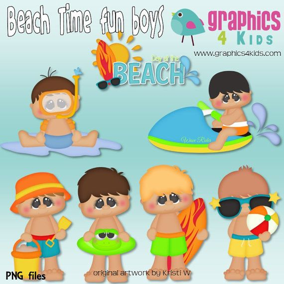 Fun Time clipart beach party Fun images about Summer Instant